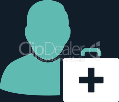 bg-Dark_Blue Bicolor Blue-White--first aid man.eps