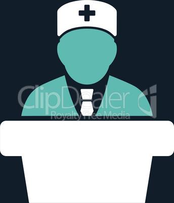 bg-Dark_Blue Bicolor Blue-White--Health care official.eps
