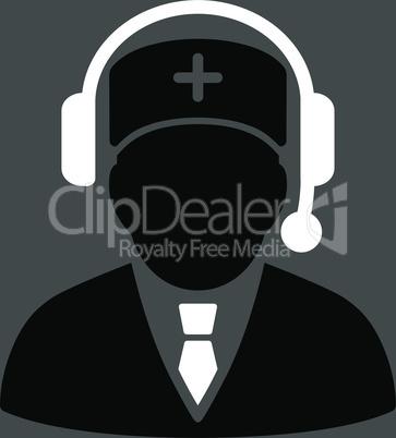 bg-Gray Bicolor Black-White--Emergency manager.eps