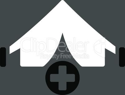 bg-Gray Bicolor Black-White--field hospital.eps