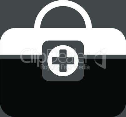 bg-Gray Bicolor Black-White--medic case.eps