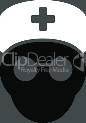 bg-Gray Bicolor Black-White--medic head.eps