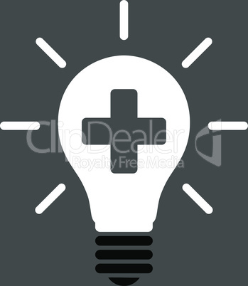 bg-Gray Bicolor Black-White--medical electric lamp.eps