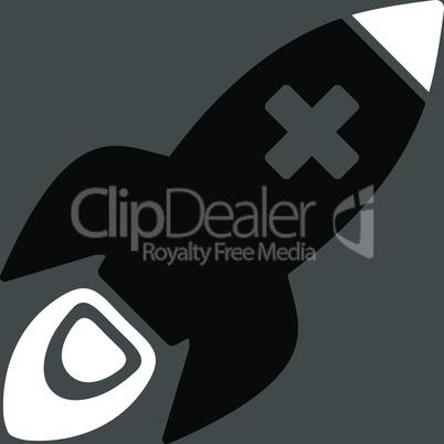 bg-Gray Bicolor Black-White--medical rocket.eps