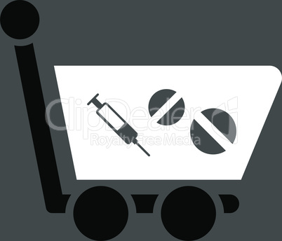bg-Gray Bicolor Black-White--medication shopping cart.eps