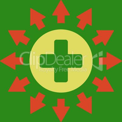 bg-Green Bicolor Orange-Yellow--pharmacy distribution.eps