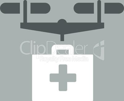bg-Silver Bicolor Dark_Gray-White--drug drone delivery.eps