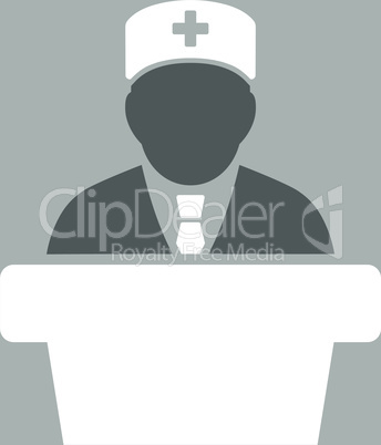 bg-Silver Bicolor Dark_Gray-White--Health care official.eps