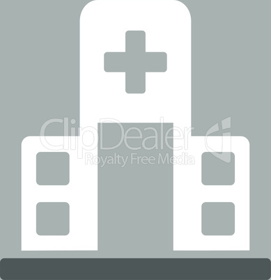 bg-Silver Bicolor Dark_Gray-White--hospital building.eps