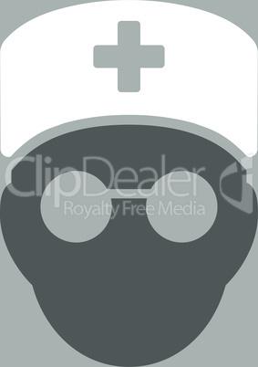 bg-Silver Bicolor Dark_Gray-White--medic head.eps