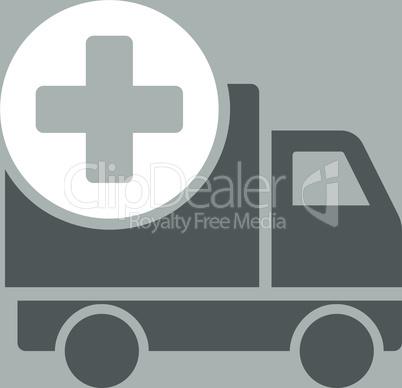 bg-Silver Bicolor Dark_Gray-White--medical delivery.eps