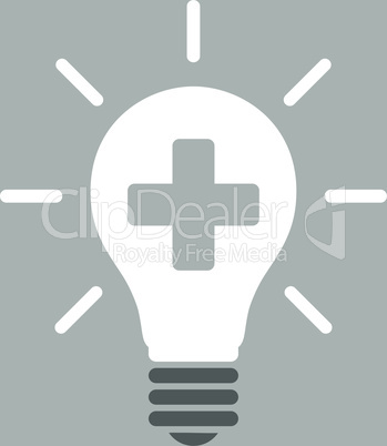 bg-Silver Bicolor Dark_Gray-White--medical electric lamp.eps