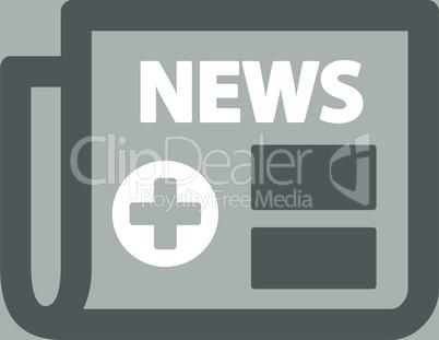 bg-Silver Bicolor Dark_Gray-White--medical newspaper.eps