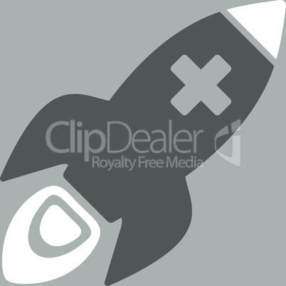 bg-Silver Bicolor Dark_Gray-White--medical rocket.eps