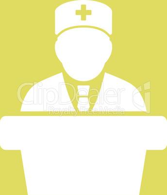 bg-Yellow White--Health care official.eps