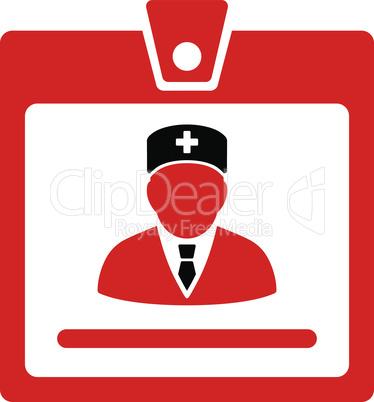 Bicolor Blood-Black--doctor badge.eps