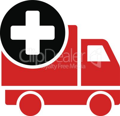 Bicolor Blood-Black--medical delivery.eps