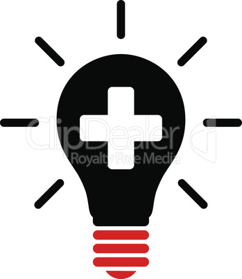 Bicolor Blood-Black--medical electric lamp.eps
