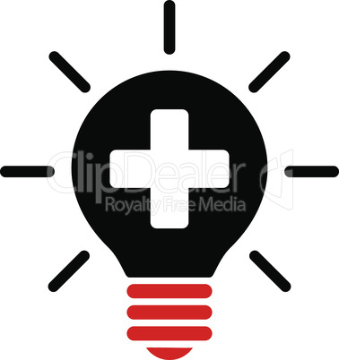 Bicolor Blood-Black--medical lamp.eps