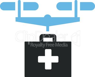 Bicolor Blue-Gray--drug drone delivery.eps