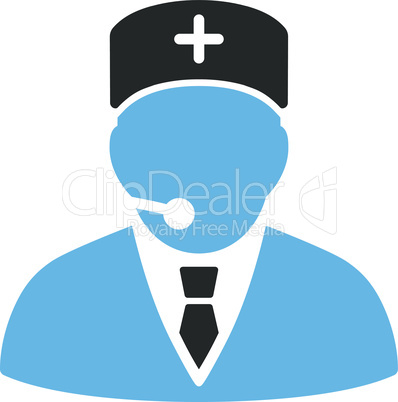 Bicolor Blue-Gray--medical manager.eps