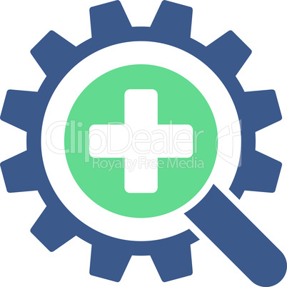 BiColor Cobalt-Cyan--find medical technology.eps