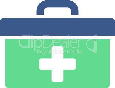 BiColor Cobalt-Cyan--first aid toolbox.eps