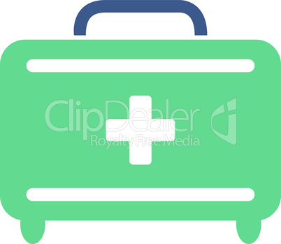 BiColor Cobalt-Cyan--first aid toolkit.eps