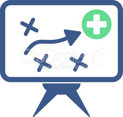 BiColor Cobalt-Cyan--health strategy.eps