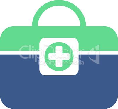 BiColor Cobalt-Cyan--medic case.eps