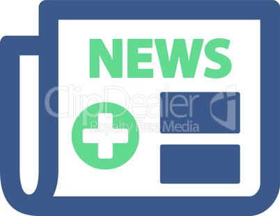 BiColor Cobalt-Cyan--medical newspaper.eps