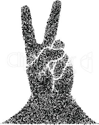Musical Victory Gesture
