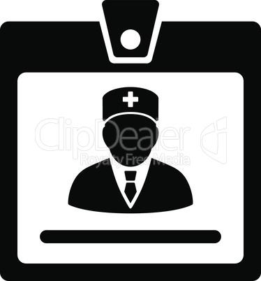 Black--doctor badge.eps