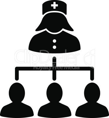 Black--nurse patients connections.eps