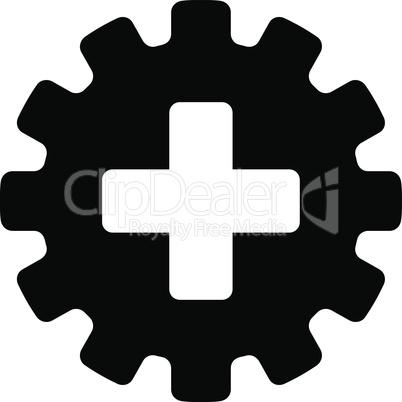 Black--plus gear.eps