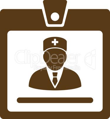 Brown--doctor badge.eps