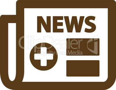Brown--medical newspaper.eps
