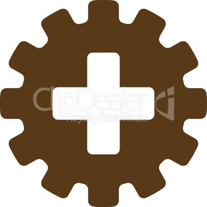 Brown--plus gear.eps