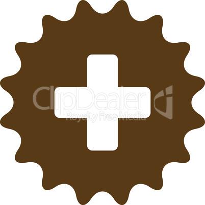 Brown--plus stamp.eps