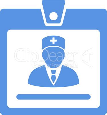 Cobalt--doctor badge.eps