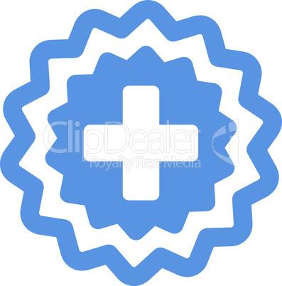 Cobalt--medical cross stamp.eps