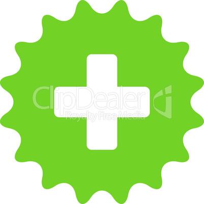 Eco_Green--plus stamp.eps