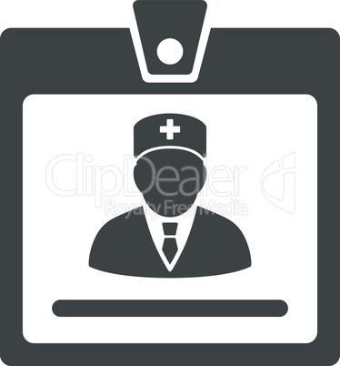 Gray--doctor badge.eps