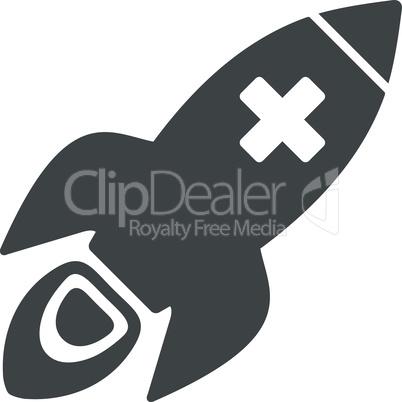 Gray--medical rocket.eps
