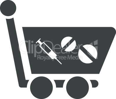 Gray--medication shopping cart.eps