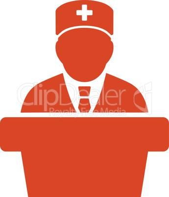 Orange--Health care official.eps