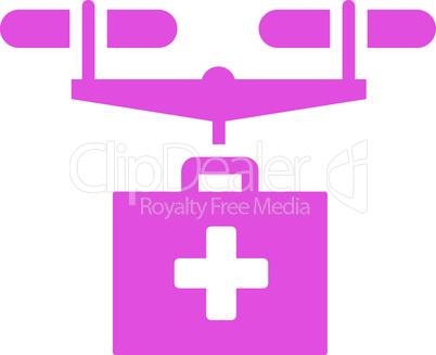 Pink--drug drone delivery.eps