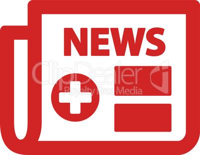 Red--medical newspaper.eps