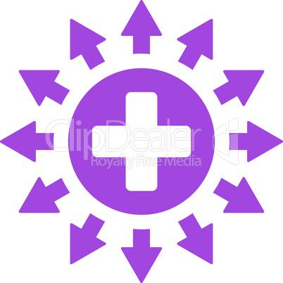 Violet--pharmacy distribution.eps