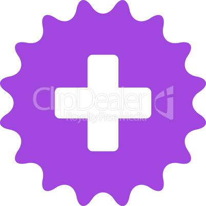 Violet--plus stamp.eps